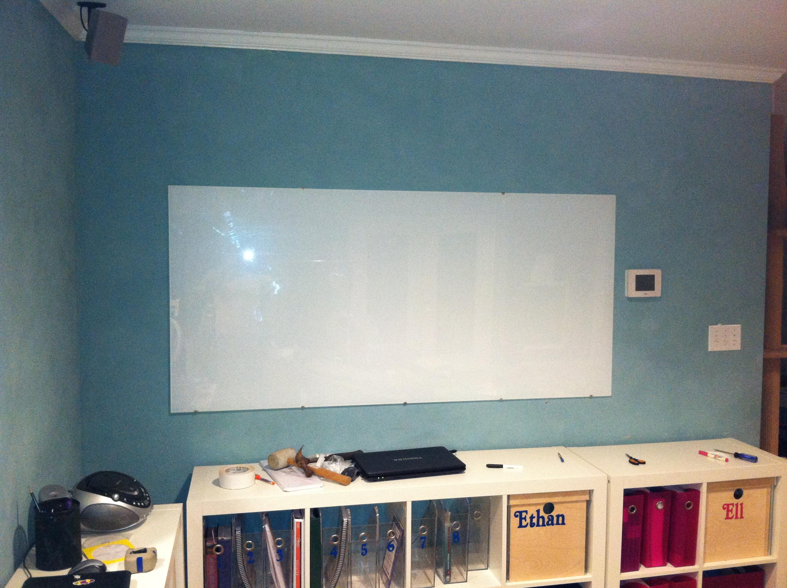 Whiteboard finished!