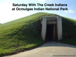 Saturday With The Creek Indians