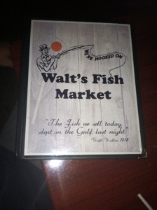 Walt's Fish Market