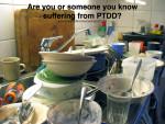 Post Traumatic Dishwashing Disorder