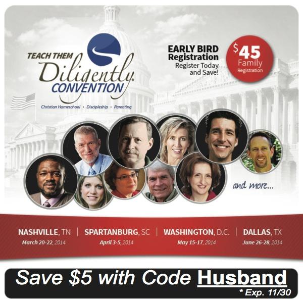 $5 Discount Code for readers of HusbandofaHomeschoolingMom
