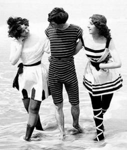 Swimwear of days gone by...