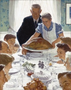 Freedom From Want ~ Norman Rockwell