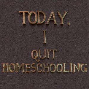 The Husband of a Homeschooling Mom